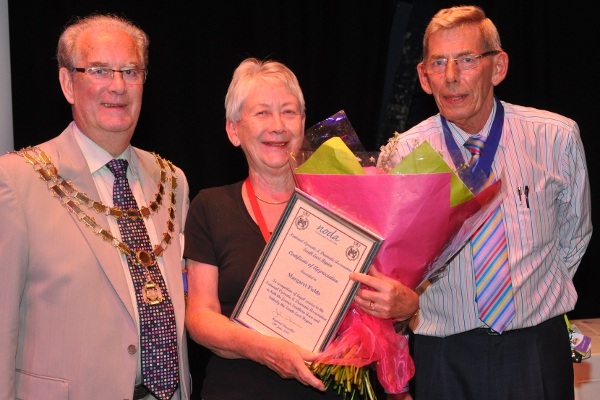 Margaret Fields retires as Regional Rep