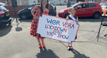 'Wor Vera' entertains the care homes during lockdown