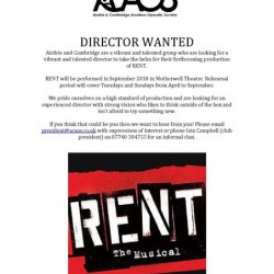 Director Wanted - Rent