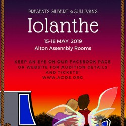 Iolanthe by Gilbert and Sullivan