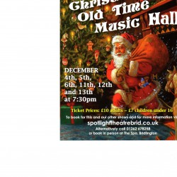 Christmas Old Time Music Hall