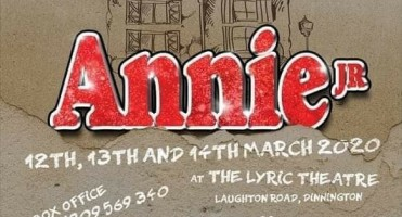 Annie Jr by arrangement with Music Theatre International