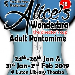 Alice's Wonderbra (the director's cup) ADULT Panto