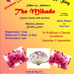 "Come and Sing ""The Mikado"""
