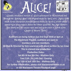 "Open Auditions for ""Alice!"""