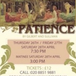 """Patience"" by Gilbert & Sullivan"